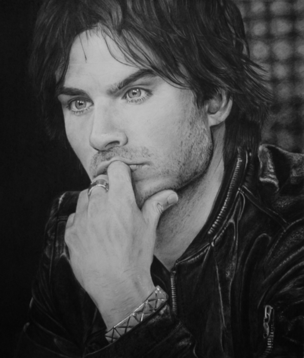Ian Somerhalder by Rica